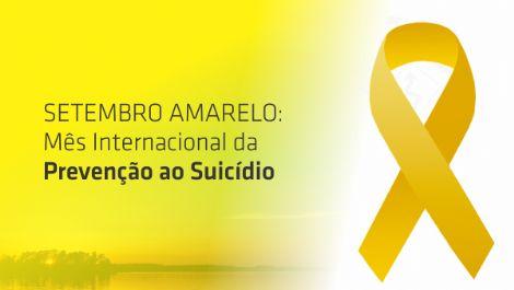 SETEMBRO AMARELO – Mês de prevenção do suicídio